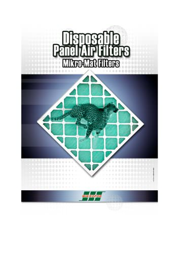 Mikro Mat Disposable Panel Filters