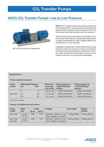 CO2 Transfer Pump