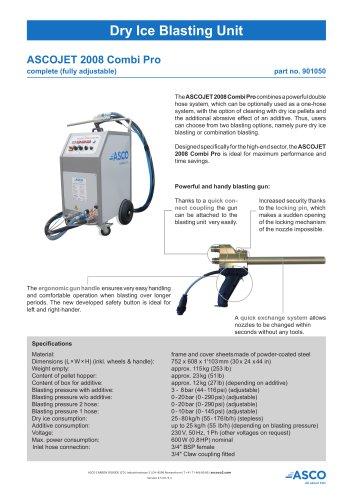 Dry Ice Blasting Unit 2008 Combi Pro