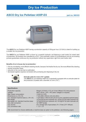 Dry Ice Pelletizer A55P