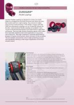 FLEXIBLE COUPLINGS FOR HIGH VIBRATION DAMPING EUROGRIP® Flexible couplings - 1