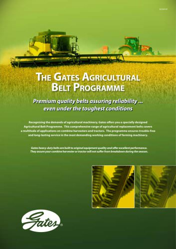 The Gates Agricultural Belt Programme