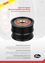 Gates DriveAlign® Overrunning Alternator Pulley For a smooth accessory belt drive system - 1