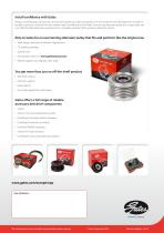 Gates DriveAlign® Overrunning Alternator Pulley For a smooth accessory belt drive system - 4
