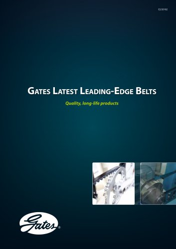 Gates Latest Leading-Edge Belts