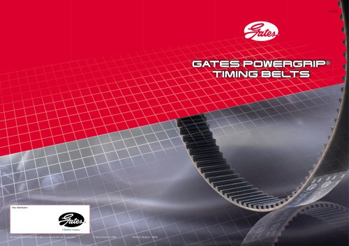 GATES POWERGRIP® TIMING BELTS