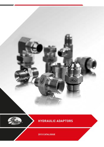 HYDRAULIC ADAPTORS 2013 CATALOGUE