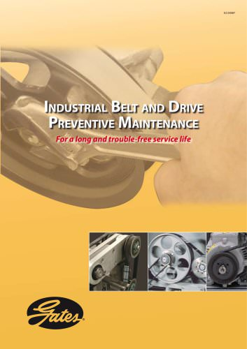 Industrial Belt and Drive Preventive Maintenance