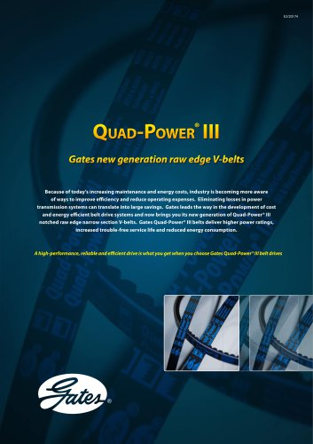 Quad-Power® III