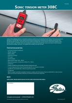Sonic tension meter 308C - 1