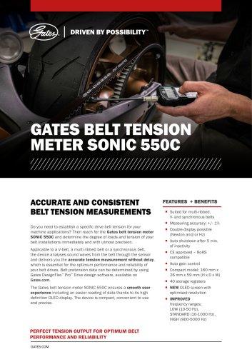 Sonic tension meter 308C