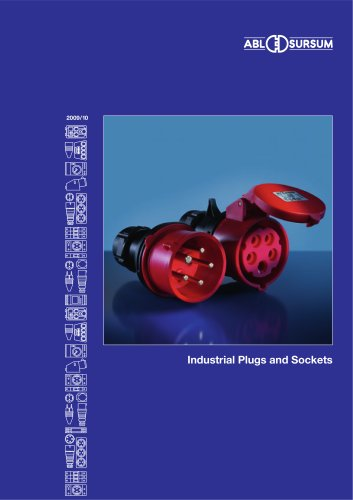 Catalogue industrial plugs & sockets 2009