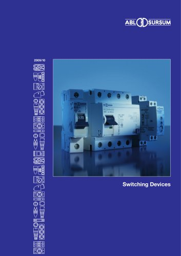 Catalogue switching devices 2009