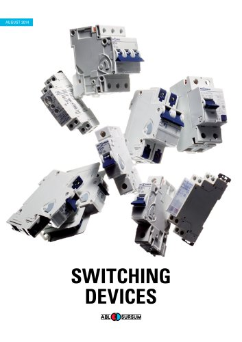 Switching devices 2014 catalog