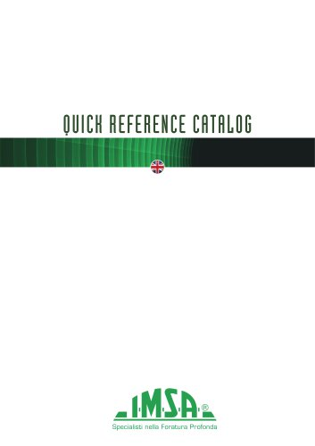 IMSA Machines | Quick Reference Catalog