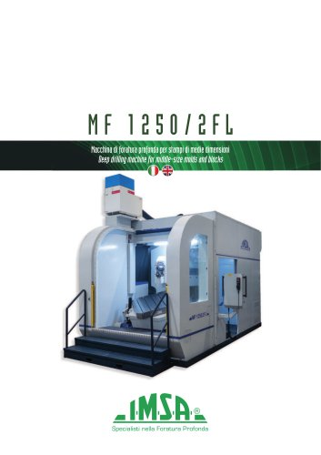 MF1250/2FL Deep drilling-milling machine for molds up to 6 tonnes