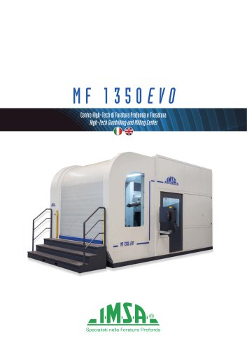 MF1350EVO | High-Tech Gun Drilling and Milling Center