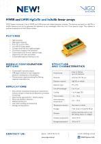 Multielement (8E – 32E) MCTInAsSb detectors - 1