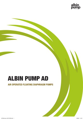 Albin AD Air Operated Double Diaphragm Pumps