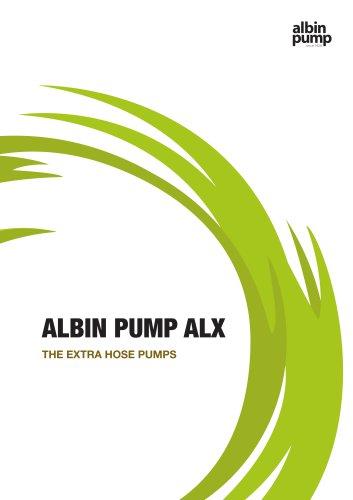 ALBIN PUMP ALX - HIGH VOLUME PERISTALTIC PUMP