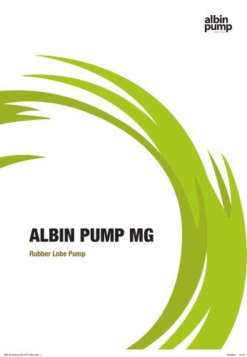 ALBIN PUMP MG Rubber Lobe Pump