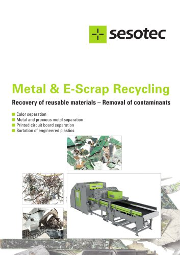 Metal & E-Scrap Recycling