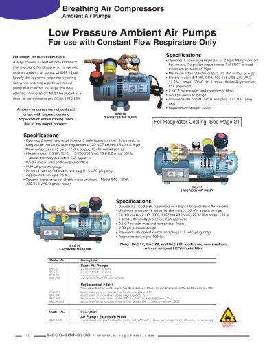 Breathing Air Compressors - Air Systems International - PDF