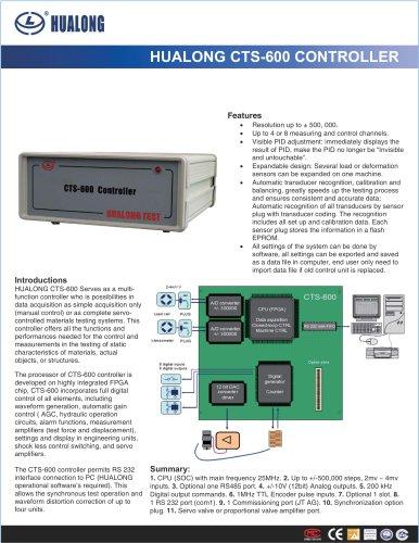 HUALONG|Controller|CTS-600
