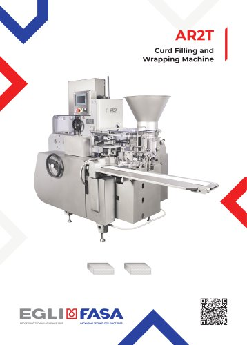 AR2T - Curd Filling and Wrapping Machine