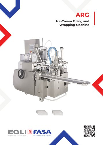 ARG - ICE-CREAM FILLING AND WRAPPING MACHINE
