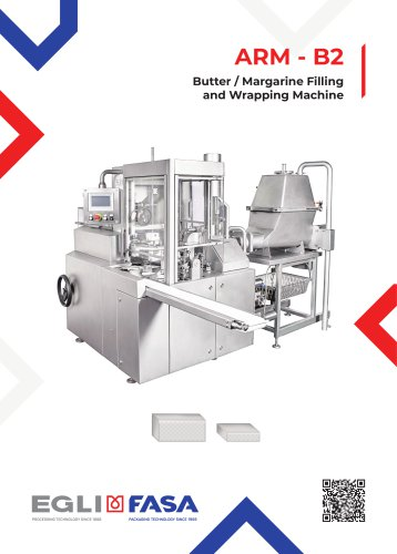 ARM-B2 - Butter / Margarine Filling and Wrapping Machine