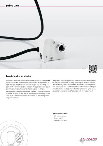 hand-held scan-device