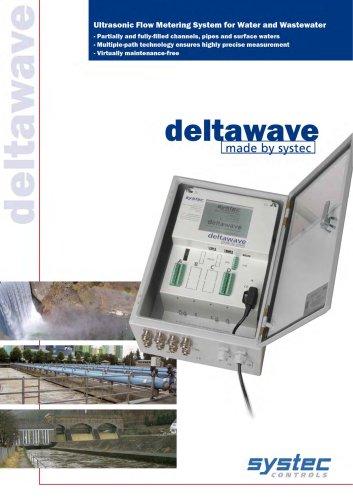 deltawave - acoustic flowmeter
