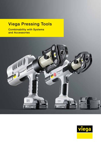 Viega Pressing Tools. Combinability with Systems and Accessories.
