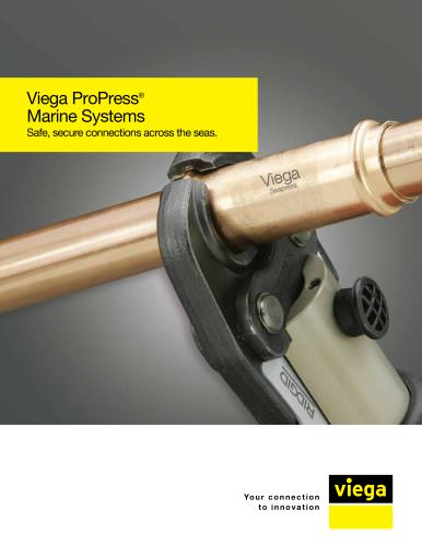 Viega ProPress for marine