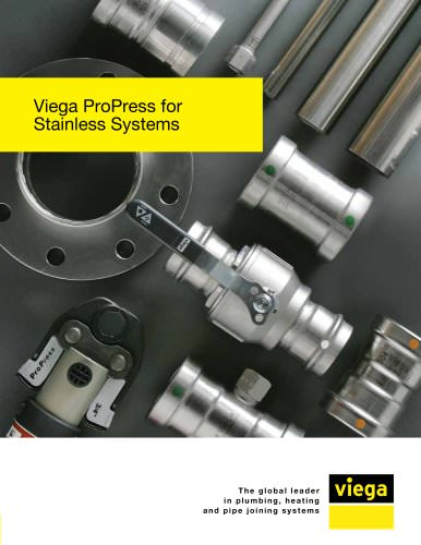 Viega ProPress for stainless