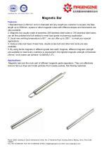Magnetic bar--catalogue