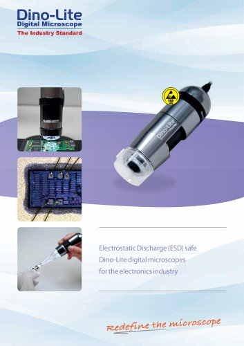 Brochure for Electronics industry