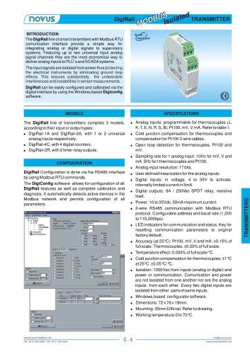 DigiRail Signal Conditioner