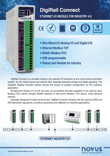 Ethernet IO Module DigiRail Connect
