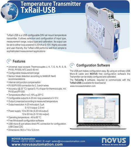 Flyer TxRail-USB