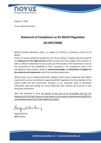 Novus Reach Declaration