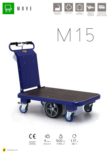 M15 electric platform trolley