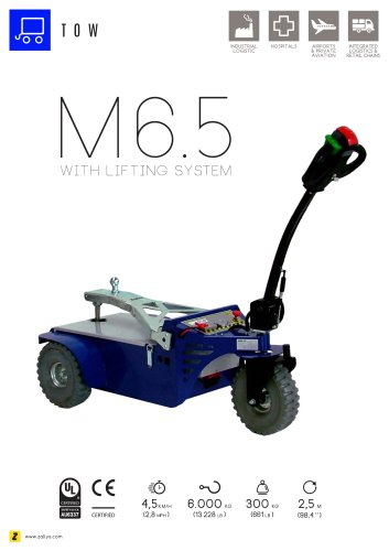 M6.5 power pusher with lifting system