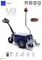 M9 cart mover with remote control - 1
