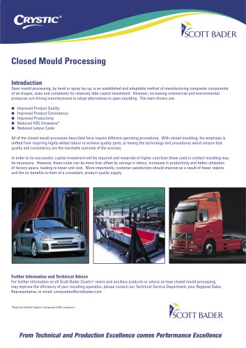 Closed Mould Brochure