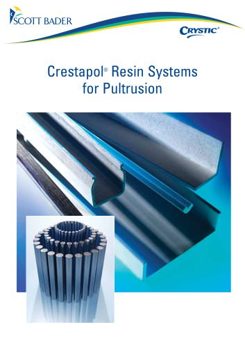 Crystic Crestapol Resin Systems for Pultrusion