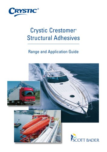 Crystic Crestomer Structural Adhesives Range and Application Guide