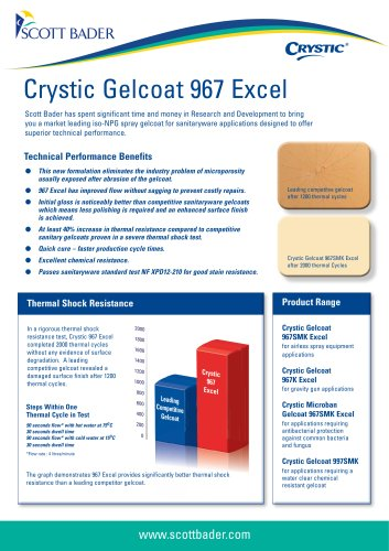 Crystic Gelcoat 967 Excel