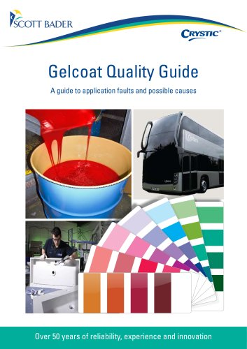 Crystic Gelcoat Quality Guide